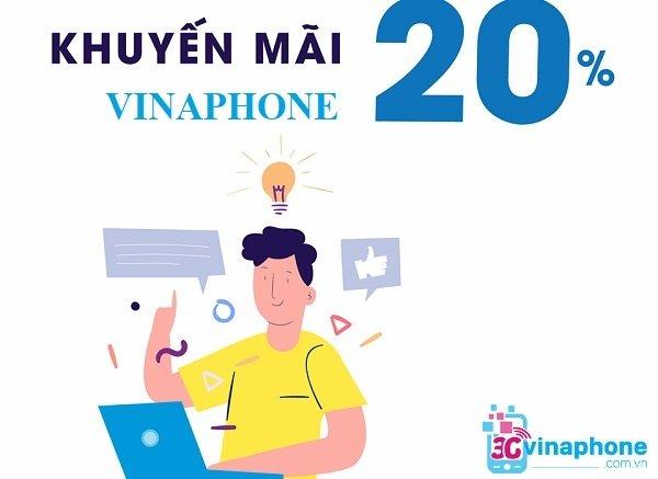 Lịch khuyến mãi nạp thẻ VinaPhone tháng 7/2019 mới nhất